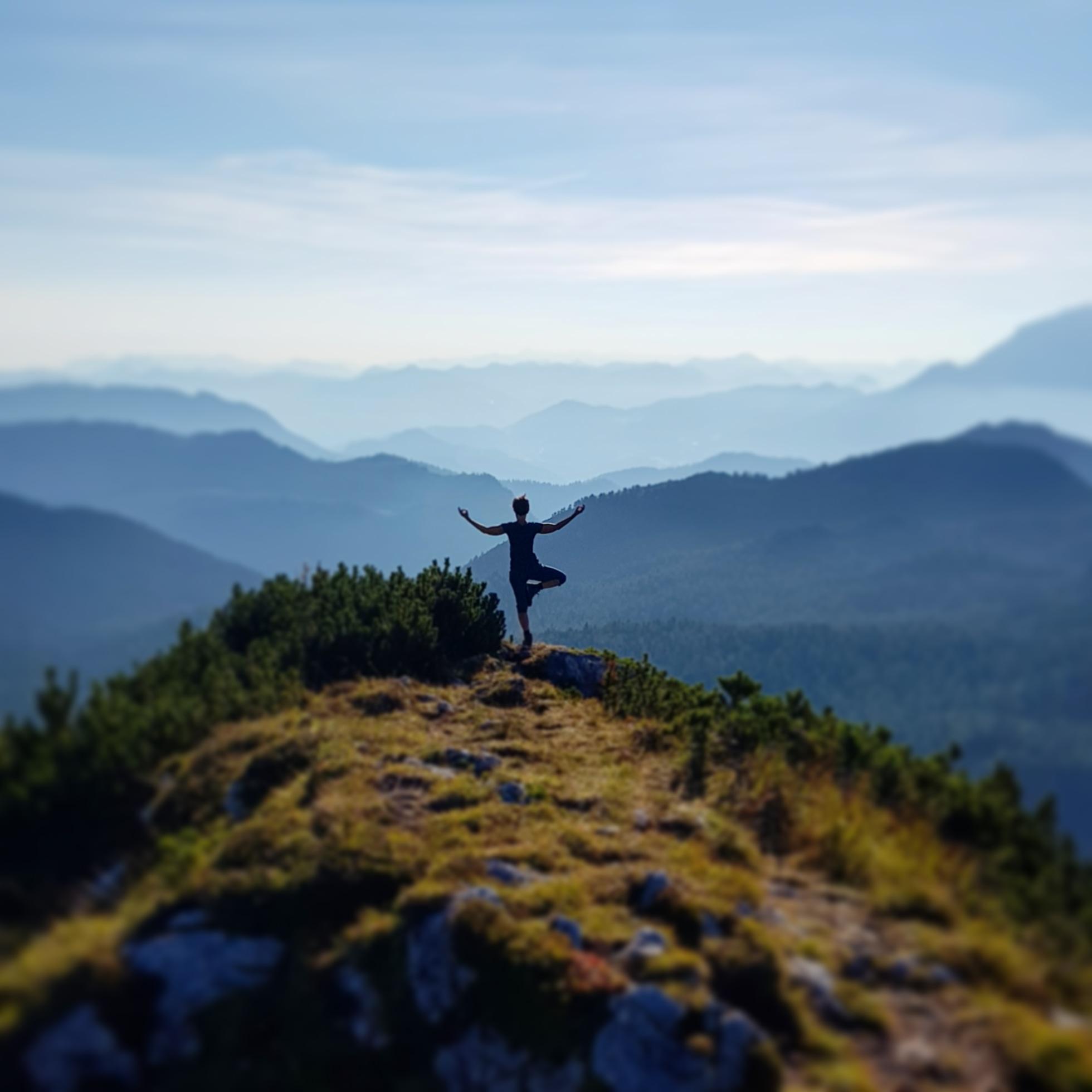 Gudrun Zandt Yoga in den Bergen