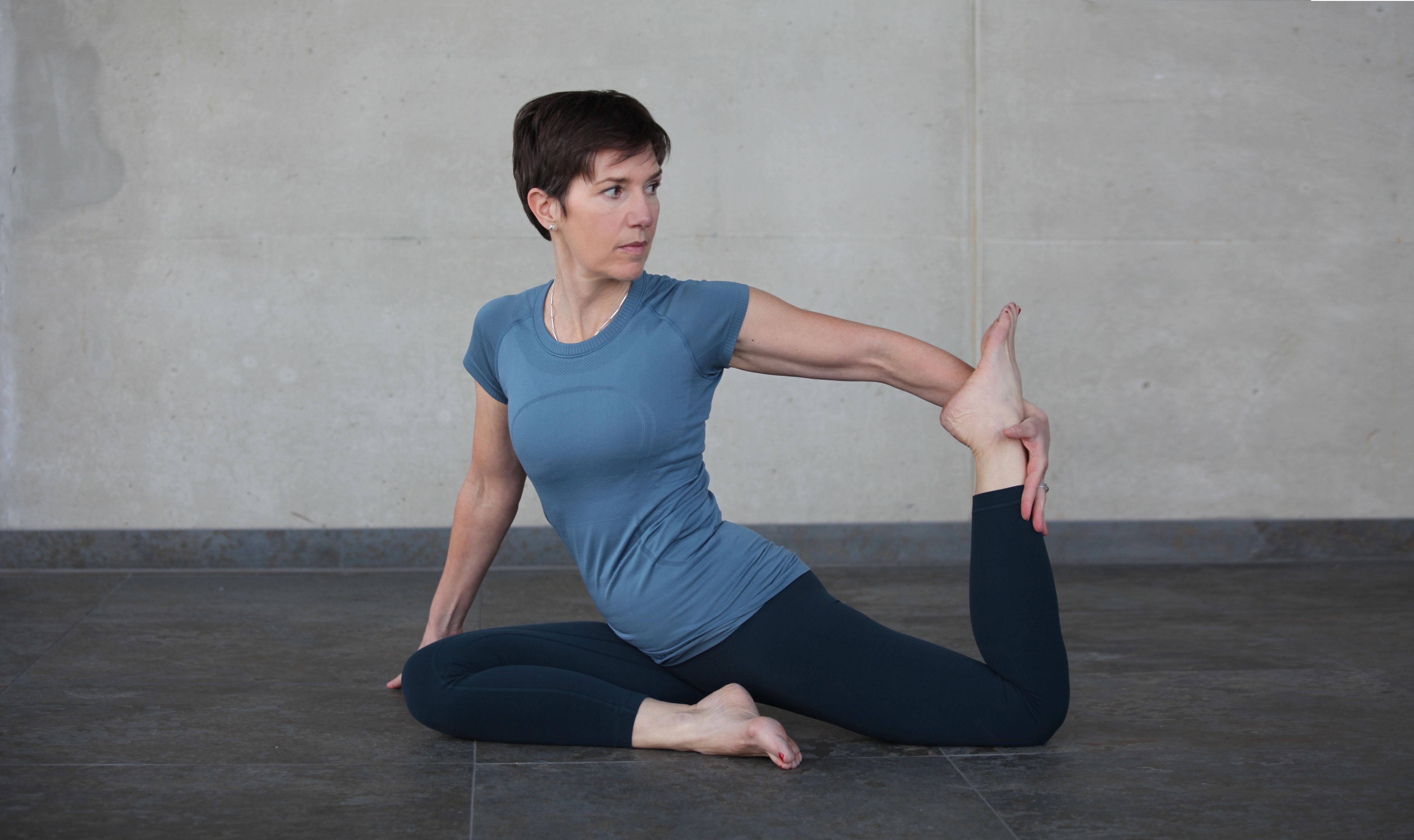 Gudrun Zandt Yogaübung